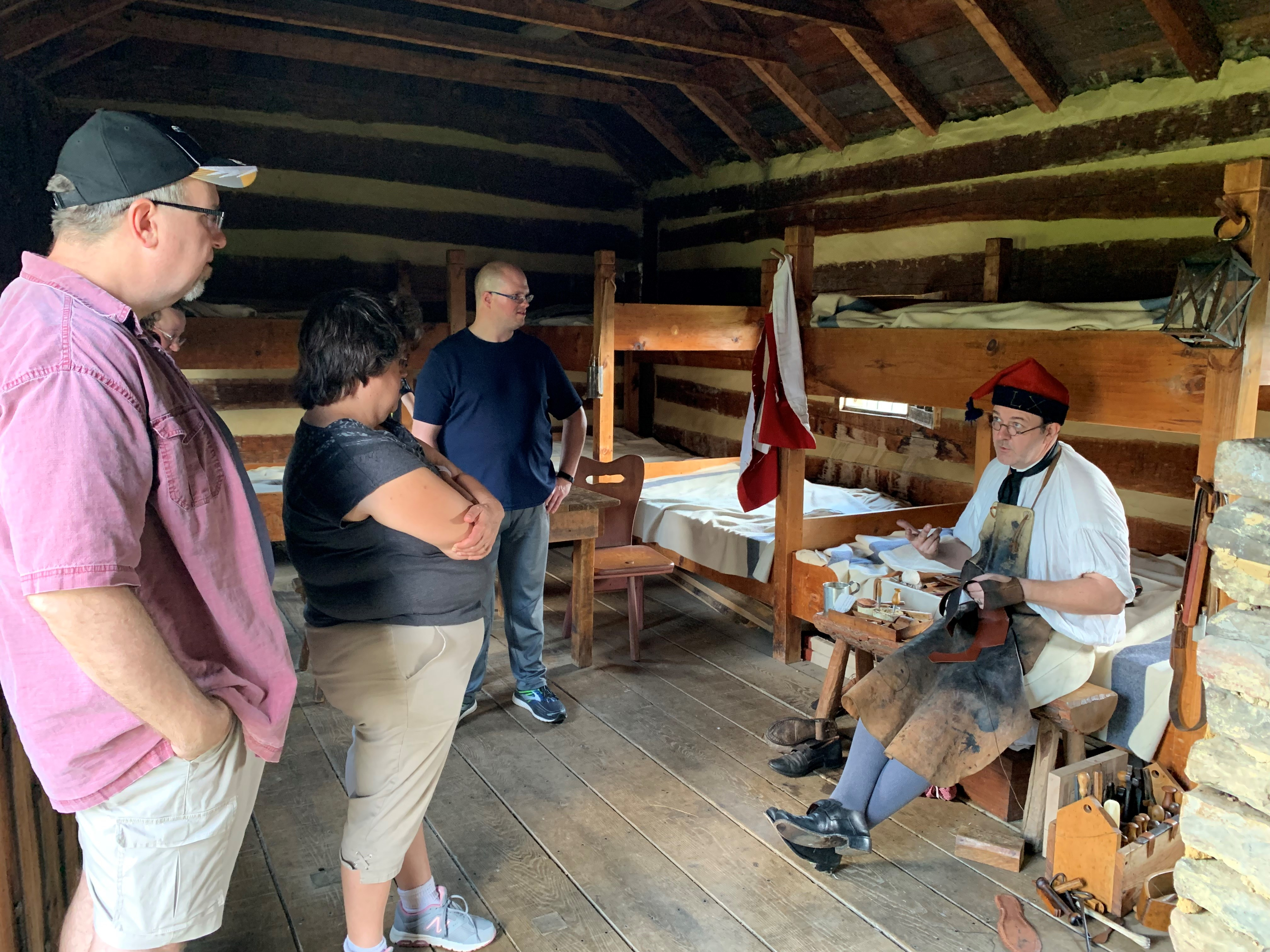 Friendly Fire Incident Program Featuring Former Colonial Williamsburg Shoemaker