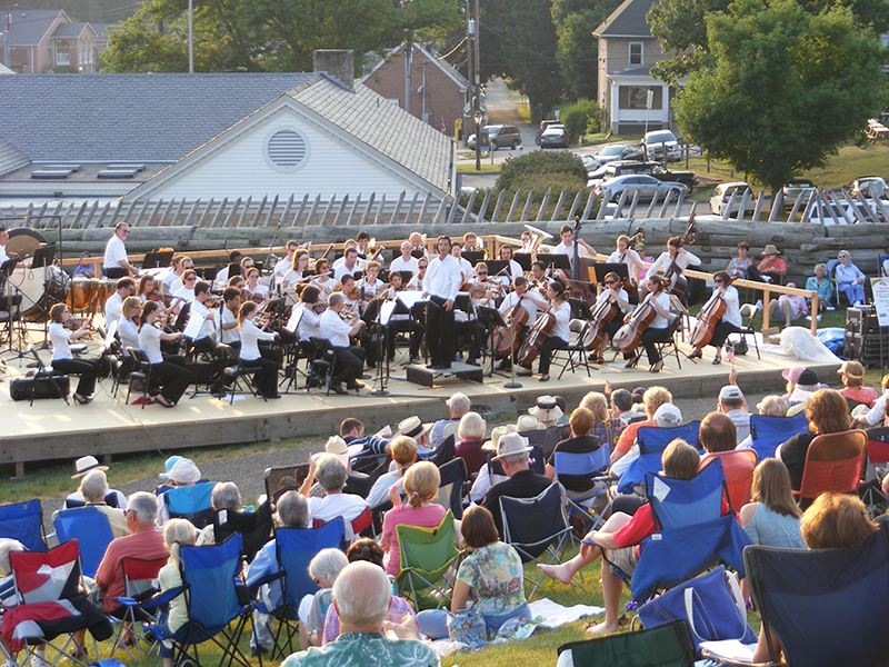 Westmoreland Symphony Orchestra at the Fort