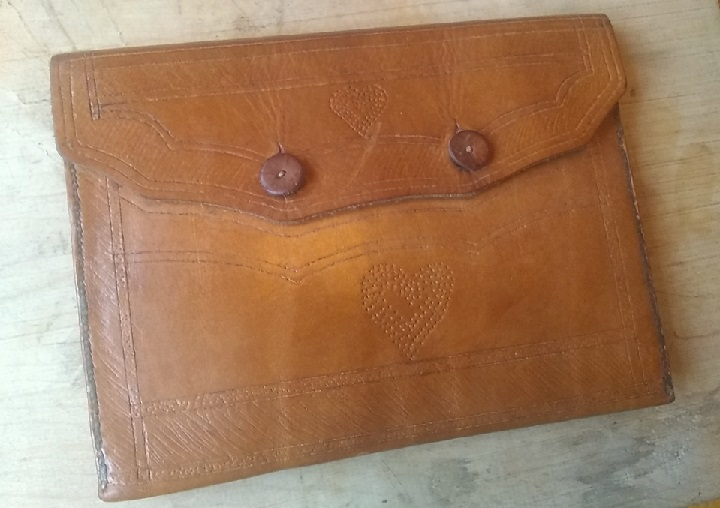 Winter Quarters Workshop Series: Leatherworking 101 Document Case